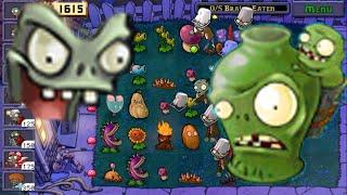 Plants vs Zombies mod | Zombie-bucket skin Spiderman