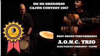 DG Cajon Contest 2017 - Best Group Performance: A.O.N.C. Trio