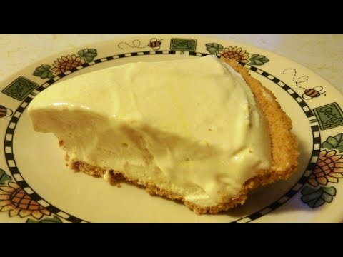 No Bake Frozen Lemonade Pie Recipe