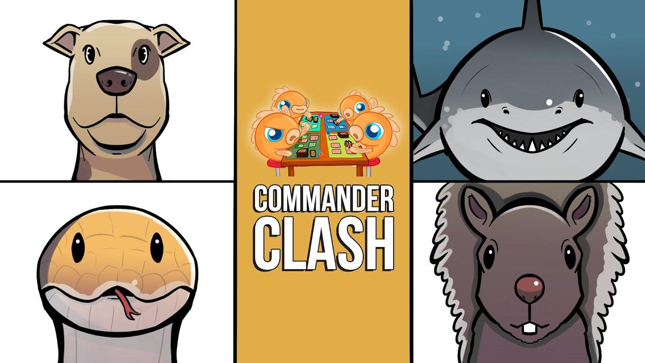 Dogs vs. Sharks vs. Snakes vs. Squirrels   Commander Clash S11E10