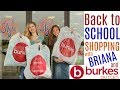 Back to School Shopping  with Briana at Burkes Outlet