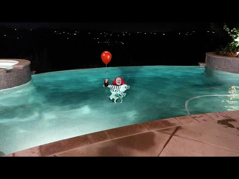 Thumbnail: FOUND A KILLER CLOWN IN MY POOL! WTF!