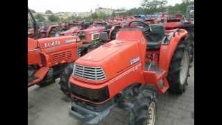 Kubota Saturn X-20 traktorek - ciągnik ogrodniczy. www.akant-ogrody.pl