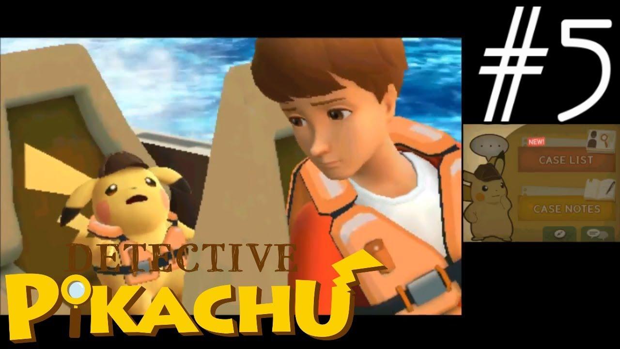 Detective Pikachu Gameplay Walkthrough Part 5 Youtube
