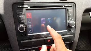 android 7 audi a3 8p sportback 09