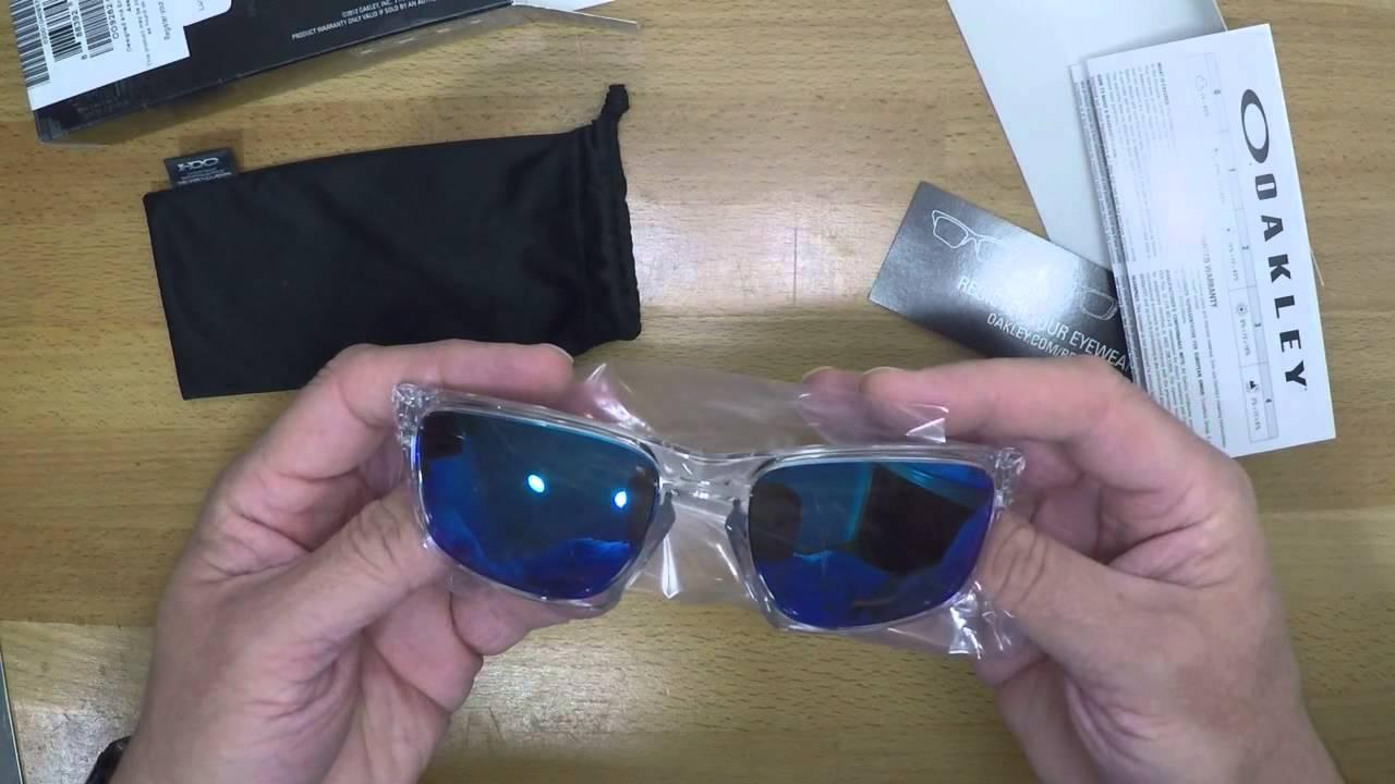 d81ac6a5e24 Gafas Oakley Silver - YouTube