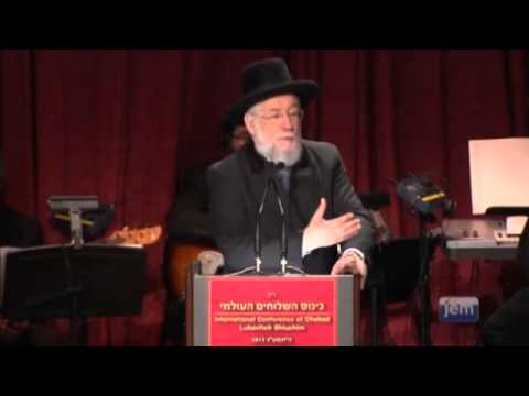 My Relationship with the Rebbe Video - Chief Rabbi Yisrael Meir Lau