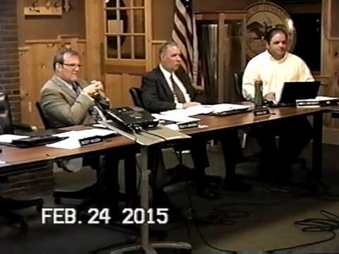 Tewksbury, MA Board of Selectmen's Meeting Feb.y 24, 2015: Part 2 of 3