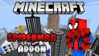 Spiderman in Minecraft!! (Addon)