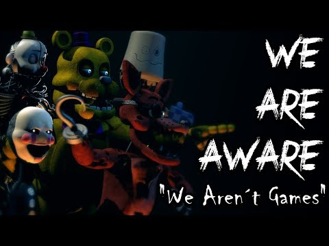 """[FNAF/SFM] """"We Aren´t Games"""" 