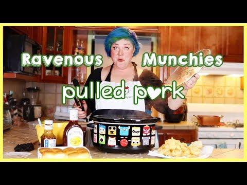 PIXAR Crockpot PULLED PORK-Ravenous Munchies Ep.1