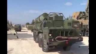 """نشرصواريخ  S-400 نظام AA وأنظمة  الدفاع الجوي في قاعدة """"حميميم"""" الجوية فى سوريا"""