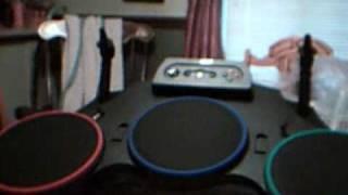 Guitar Hero: World Tour Standalone Drum Set Unboxing (Xbox 360)