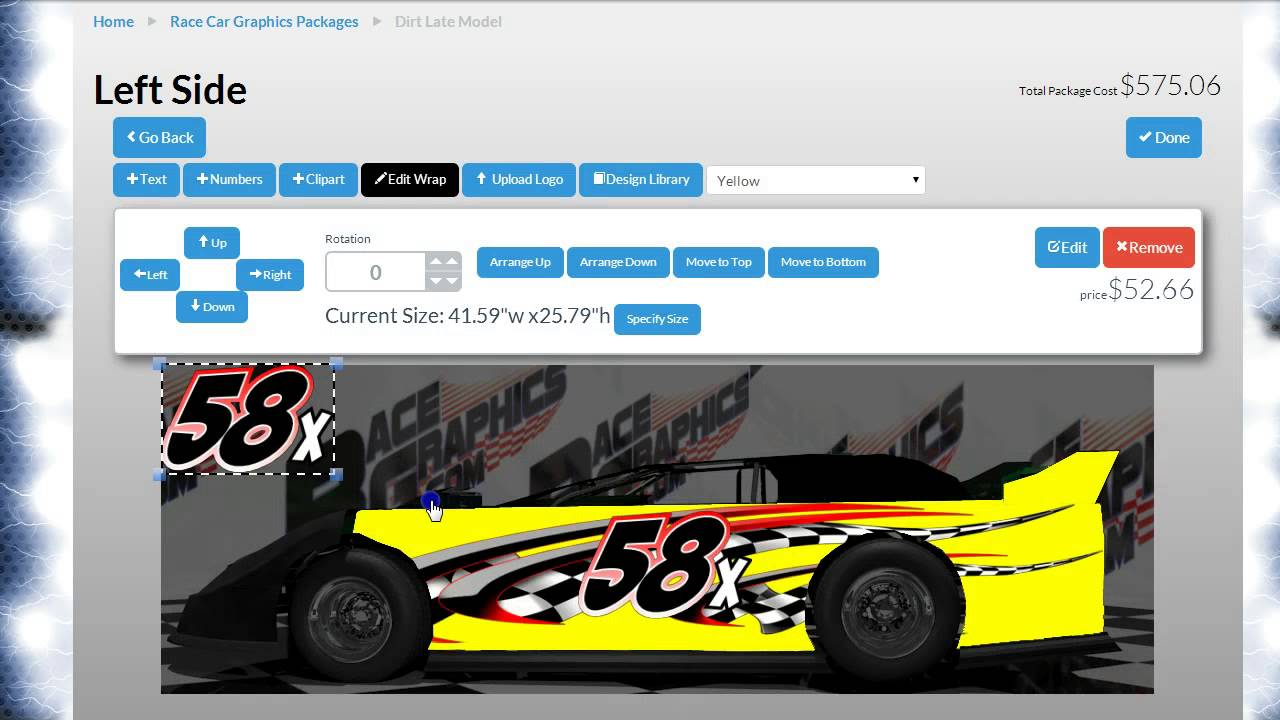 Dirt Modified Racing Graphics | RaceGraphics com