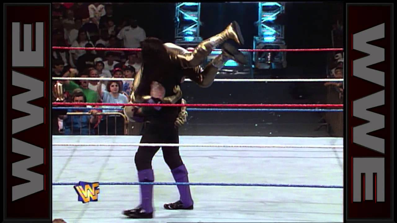 Goldust Vs The Undertaker Casket Match In Your House