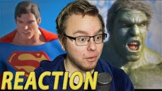 Anden Reacts to: Superman vs Hulk - The Fight (Part 4)