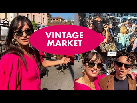 A Day With... Vintage Market In Milan !