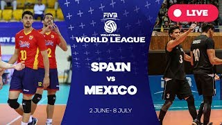 Spain v Mexico - Group 3: 2017 FIVB Volleyball World League