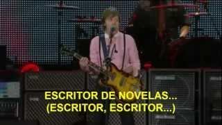 Paul McCartney- Paperback Writer (Zocalo,Mex) Subtitulada Español