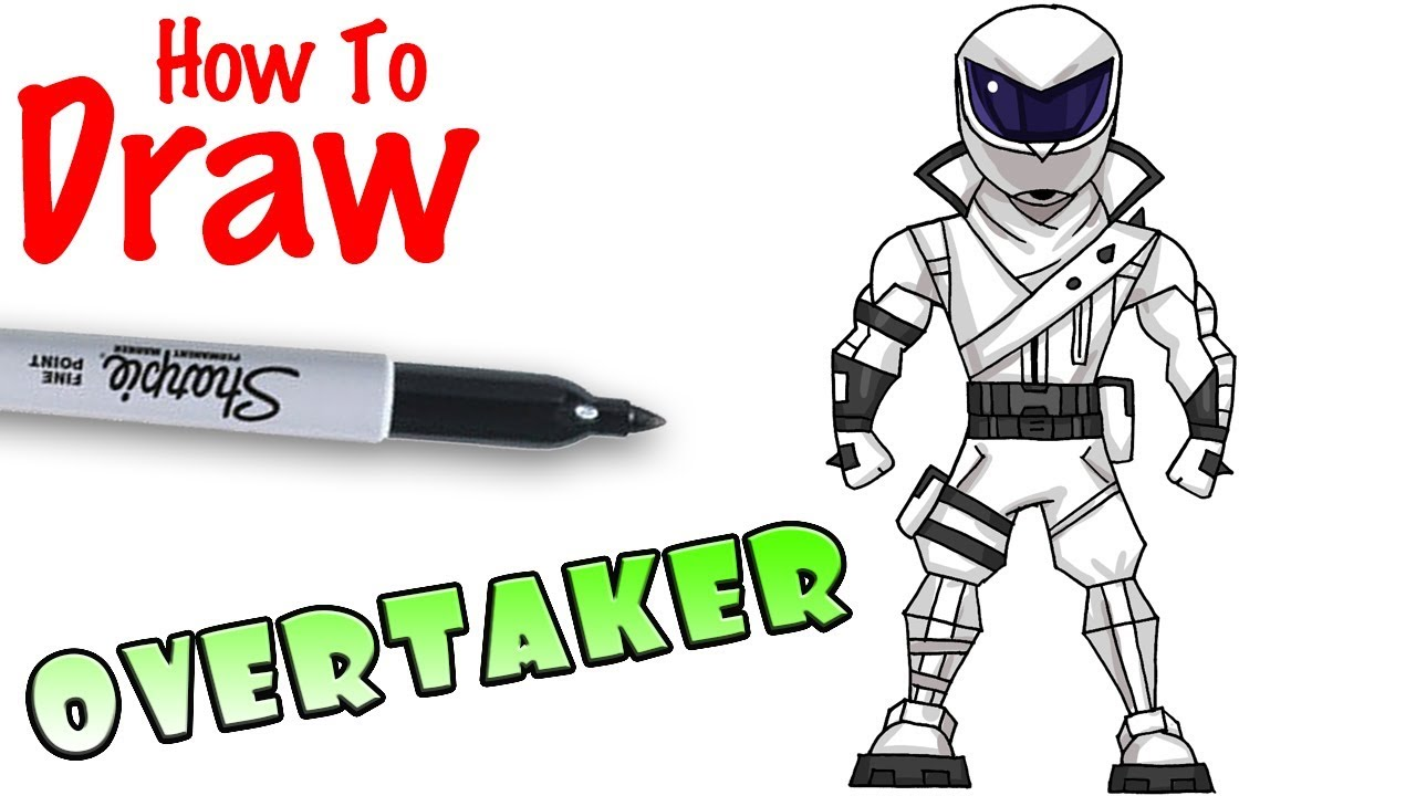 How to draw overtaker fortnite