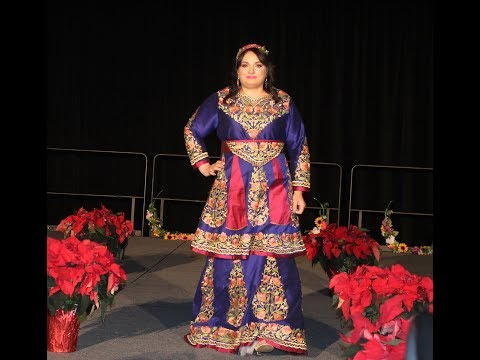 Fashion from Palestine at Cleveland multicultural party