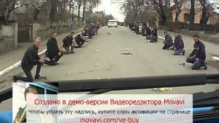 Борщів зустрічає свого Героя Мішу Григоришина (17 квітня 2015р)