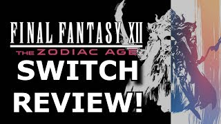 final Fantasy 12 on Nintendo Switch Review! Worth the Price?