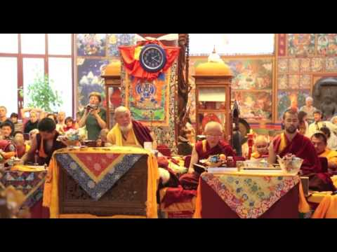 HH Trijang Rinpoche visits Albagnano Healing Meditation Center, Italy (2012)