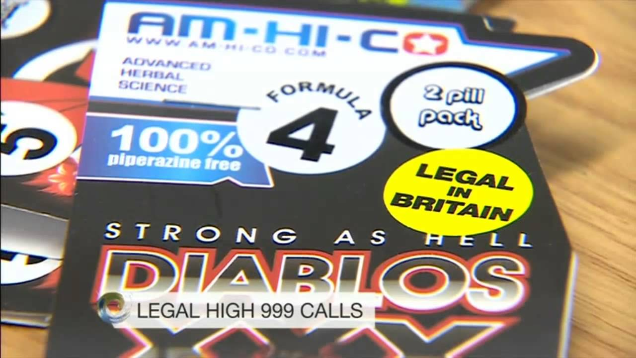 Legal highs - 999 calls