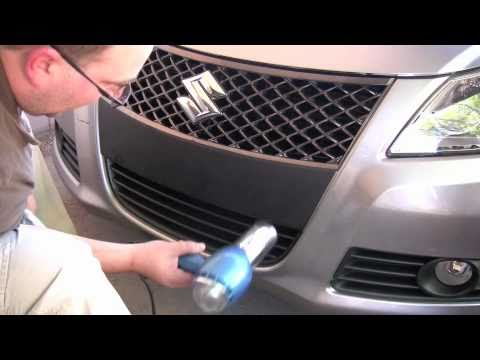 Suzuki Kizashi Vinyl Bumper Blackout Kit Youtube
