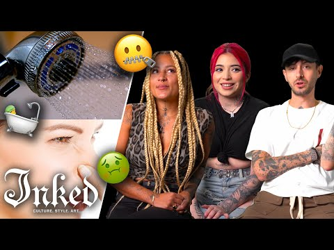 Stop Squirming! Take a Shower! How To Keep Your Tattooer Happy | Tattoo Artists React