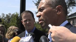 Governor Deval Patrick addresses racial issues