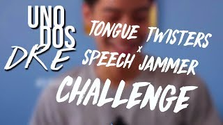 Tongue Twisters + Speech Jammer Challenge    Andre Lagdameo