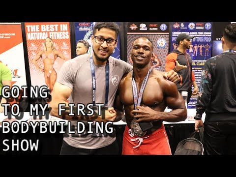 Going to my first Bodybuilding Competition 💪 | 2019 Can Fit Pro 🇨🇦