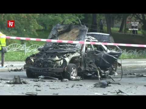 Car bomb kills Ukrainian military official