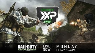 SHIPMENT 24/7 W/ SUBS IN MODERN WARFARE REMASTERED! DOUBLE XP WEEKEND   ROAD TO LEVEL 1000