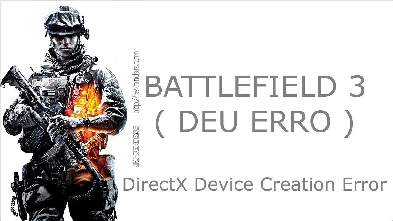 directx device creation error