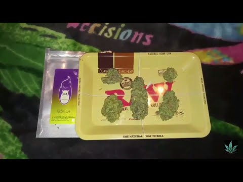 GRAPE APE - OFFICIAL CANNABIS STRAIN REVIEW LEAFLY (Mendocino Purps x Skunk x Afghani)