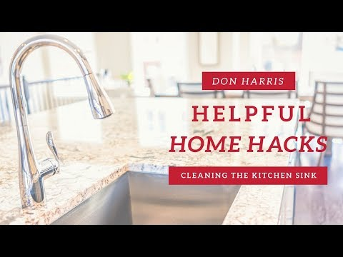 How To: DIY Green Clean Your Kitchen Sink!