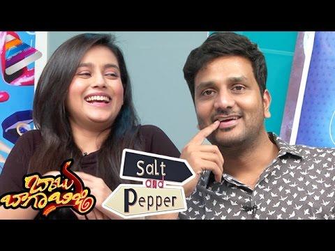 Srinivas Avasarala & Mishti TROLL Each Other | Babu Baga Busy Movie SALT & PEPPER Interview