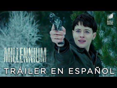 MILLENNIUM: LO QUE NO TE MATA TE HACE MÁS FUERTE. Tráiler Internacional HD. Ya en cines.