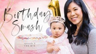 Birthday SMASH Cake, Photo Banner & Macarons 🎂THE MIX: Episode 2 | HONEYSUCKLE