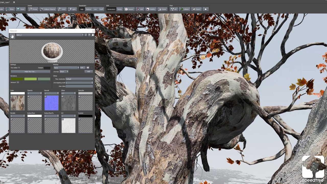 SpeedTree 8 for Unity launches today - article | CGSociety