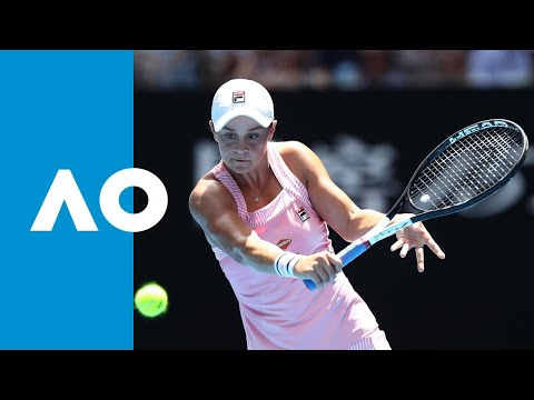 Ash Barty's winning game to defeat Maria Sharapova (4R)   Australian Open 2019