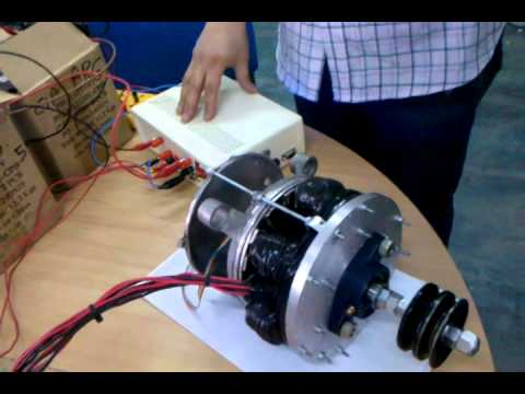 Motor el ctrico axial argentino prototipo para veh culos - Motor electrico para persianas ...