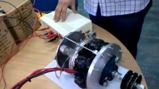 MOTOR ELÉCTRICO AXIAL ARGENTINO (prototipo)  para vehículos eléctricos.