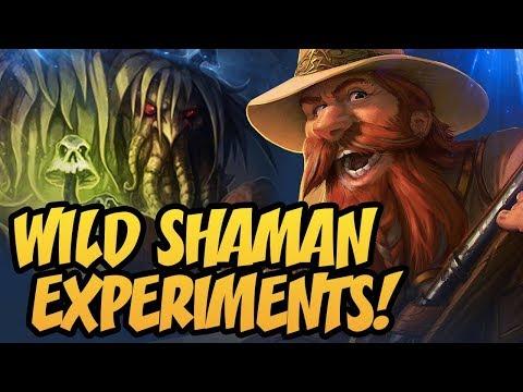Wild Shaman Experiments!   Rastakhan's Rumble   Hearthstone