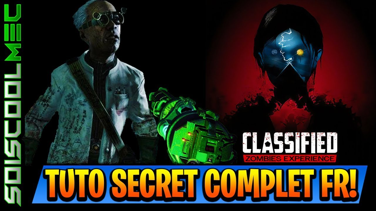 TUTO SECRET COMPLET CLASSIFIED COMMENT AVOIR LARMES SPECIAL PISTOLET HIVERNAL COD BO4 FRANCAIS