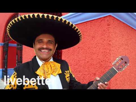 Musica messicana tradizionale tipica folk strumentale mariachi con tromba con chitarra allegra