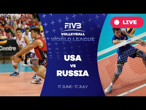 United States v Russia - Group 1: 2016 FIVB Volleyball World League